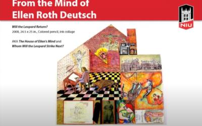 NIU Art Museum Gallery Talk on the works of Ellen Roth Deutsch