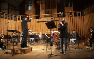 """NIU Philharmonic Orchestra joins Rockford Symphony Orchestra for """"The Orchestra Sings"""" online"""