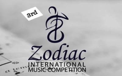 David Maki named finalist in Zodiac International Music Competition