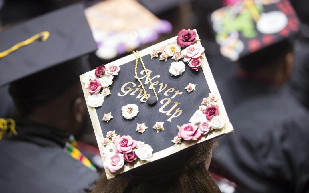 Commencement mortar board