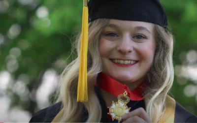 Graduation Stories: Jill Belluomini, Lincoln Laureate winner, Dance Minor