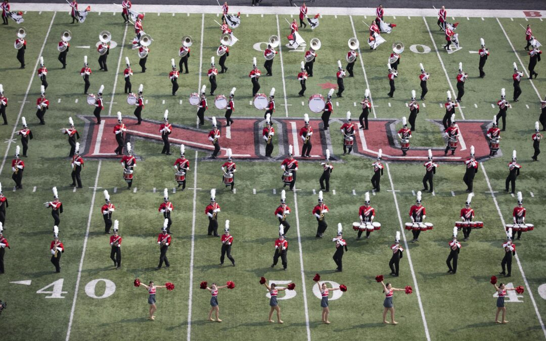 Huskie Marching Band to perform at Bears-Bengals game Sunday