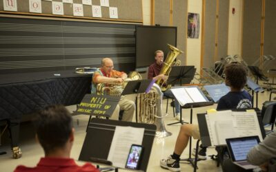 Pokorny Low Brass Seminar brought musicians from all over the country to NIU this summer